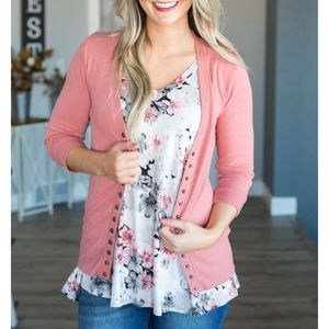 Sweaters - Softest MUST HAVE Cardigan - ROSE